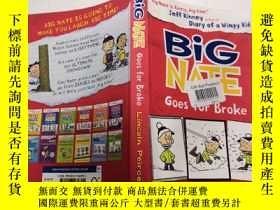 二手書博民逛書店Big罕見Nate Goes for Broke : 大內特破產了Y200392