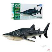 店慶優惠兩天-仿真野生海洋動物模型 鯨鯊魚兒童男孩玩具