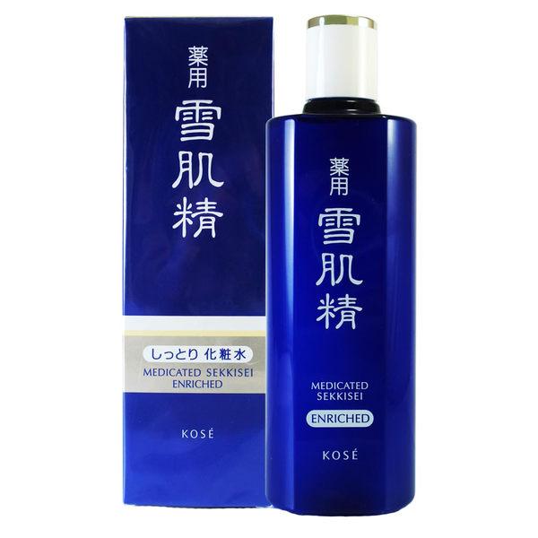 岡山戀香水~KOSE 高絲 雪肌精化妝水200ml(極潤型)~優惠價:1140元