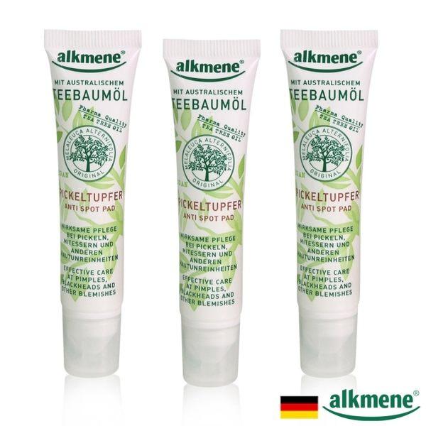 德國alkmene茶樹驅黑淡斑點式凝露15ml三入組