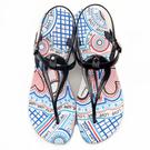 女款 蔚蔚藍天海邊 夏日必備 海灘涼鞋 防水涼鞋 夾腳涼鞋 黑色 MIT 59鞋廊