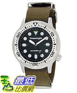 [106美國直購] Freestyle 手錶 Unisex 10019173 B00LCTCDDU Ballistic Dive Analog Display Japanese Quartz Black Watch