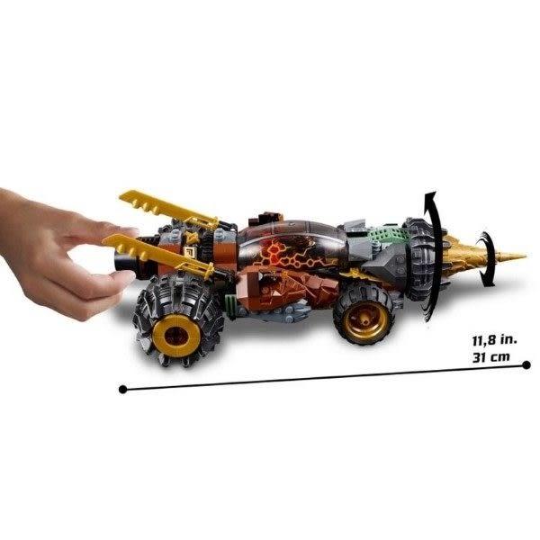 【LEGO樂高】旋風忍者 阿剛的鑽土機 #70669