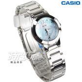 CASIO卡西歐 LTP-1191A-2A 時尚精緻小巧甜美淑女腕錶 典雅不凡 珍珠母貝面 水藍色 LTP-1191A-2ADF