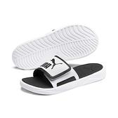 PUMA Royalcat Comfort 男女款白色休閒涼拖鞋 37228002