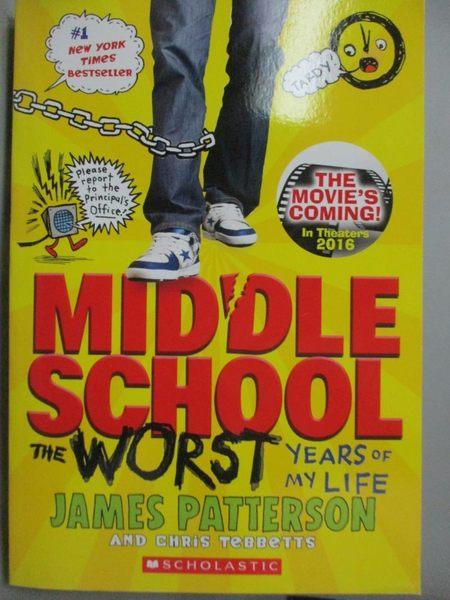 【書寶二手書T7/語言學習_LCR】Middle School, the Worst Years of My Life_