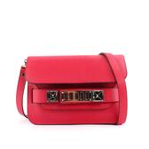 【PROENZA SCHOULER】mini 新款 防刮牛皮 PS11(金釦)(洋紅色) H00007 C137K 7047