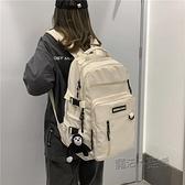 新款大容量書包女韓版高中學生初中生後背包多口袋背包男潮 夏季狂歡