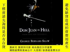 二手書博民逛書店Don罕見Juan in Hell: From Man and
