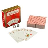 紙牌麻將144張三層黑芯紙麻將撲克牌 全館免運