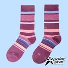 PolarStar 中性 排汗登山健行襪『紅紫』P20617 露營.戶外.登山.排汗襪.彈性襪.休閒襪.襪子.男版.女版