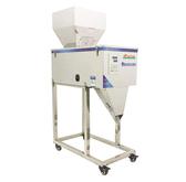 現貨-大容量自動分装機、定量分装機-帶震動-加大料斗-20~3000g(粉末、顆粒分裝)-110v電壓