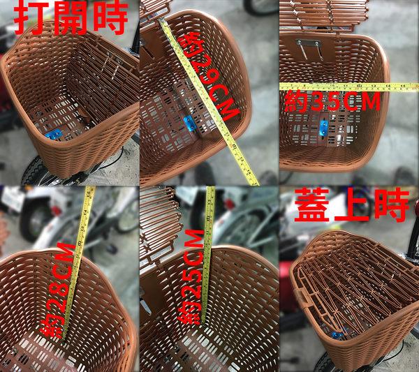 編織 紋路 塑膠 菜籃 電動腳踏車 台南【康騏電動車】專業維修批發零售