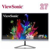 ViewSonic 優派 VX2776-SMHD 27型 AH-IPS時尚 窄邊框護眼低輻射顯示器顯示器