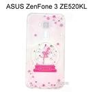 施華洛世奇空壓氣墊軟殼 [水晶天使] ASUS ZenFone 3 (ZE520KL) 5.2吋