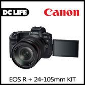 Canon EOS R RF 24-105mm IS USM (公司貨) -送Sandisk 128G/170MBs+吹球拭鏡專業清潔組+螢幕保護貼