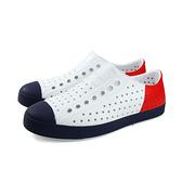 native JEFFERSON BLOCK 休閒鞋 洞洞鞋 白色 男女鞋 11100102-8483 no926