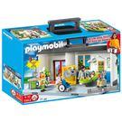 playmobil 摩比積木 帶著走 醫院提盒_PM05953
