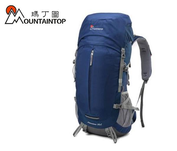 丹大戶外用品 瑪丁圖【Mountaintop】超輕多功能登山包80L 藍 MPA5820