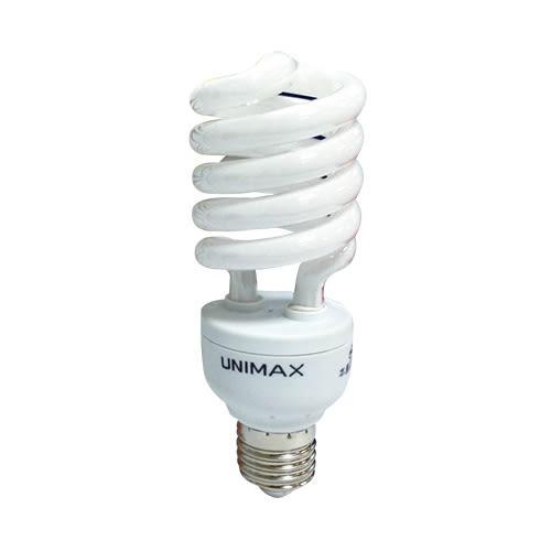 ★6件超值組★美克斯UNIMAX 螺旋省電燈泡-黃光(23W)【愛買】