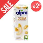 [即期品]【ALPRO】原味腰果奶2瓶組(1公升*2瓶) 效期2021/10/18