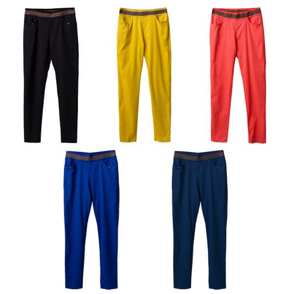 抗菌涼感褲MIT-獨家打版TalentCool涼爽纖維車線往前激瘦版型耐米褲-(S-XL)~funsgirl芳子時尚