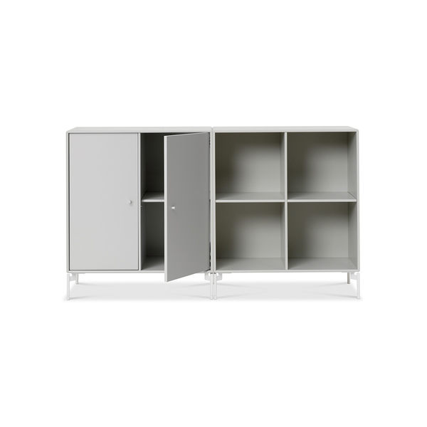 Montana Pair Sideboard with Cabinet & Shelving 成雙系列 站立式 四格收納櫃&雙門收納櫃 組合