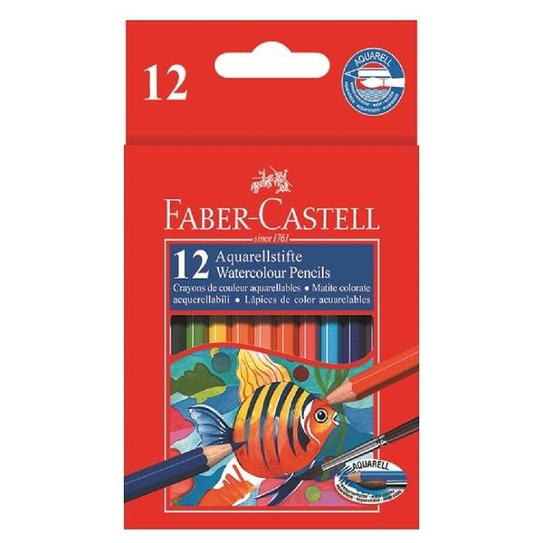 色鉛筆 Faber-Castell輝柏 114461 12色短桿水性鉛筆【文具e指通】 量販團購