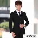 西裝外套 男士西服套裝三件套青少年韓版新郎結婚正裝單西外套修身小西裝男 酷男