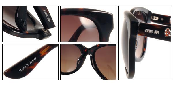 Anna Sui 太陽眼鏡 AS1017-1 C101 (琥珀) 浪漫簡約百搭微貓眼款 # 金橘眼鏡