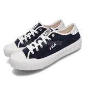 Fila 休閒鞋 C910T 藍 白 男鞋 女鞋 運動鞋 低筒 餅乾鞋 【PUMP306】 4C910T311