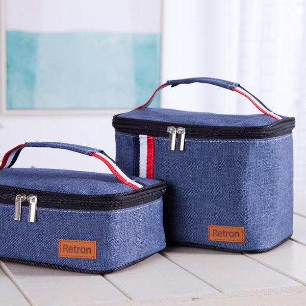鋁箔加厚飯盒袋保溫手提袋防潑水便當盒布袋新款【一周年店慶限時85折】