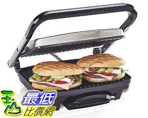 [7美國直購] 帕尼尼機 Hamilton Beach (25410) Panini Press, Sandwich Maker Grill, Electric Cooking Surface