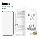 """【愛瘋潮】IMOS iPhone XS Max(6.5"""")「神極3D款」點膠3D 2.5D滿版玻璃貼(黑邊) 全覆蓋美觀防塵版玻璃"""