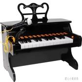 220V 兒童鋼琴電子琴音樂玩具初學者小寶寶女孩帶話筒可彈奏 LN3444【甜心小妮童裝】