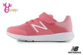 New Balance PERFORMANCE 中童 運動鞋 足弓發展 輕量慢跑鞋 O8586#粉橘◆OSOME奧森鞋業