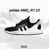 adidas 休閒鞋 NMD_R1.V2 黑 白 男鞋 女鞋 Boost 中底設計 運動鞋 【ACS】 FV9021