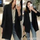 小西裝外套女韓版寬松網紅西服上衣設計感小眾英倫風 水晶鞋坊