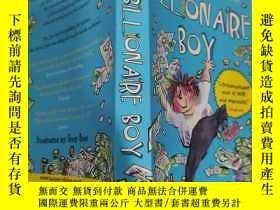 二手書博民逛書店billionaire罕見boy 億萬富翁男孩..Y200392