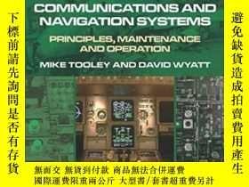 二手書博民逛書店Aircraft罕見Communications And Navigation Systems: Principl