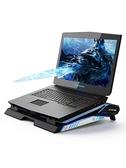 筆記本散熱器電腦風扇外星人17.3寸水冷架子戴爾戰神降溫板支架適用游戲本