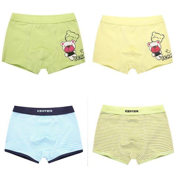 男童內褲平角褲小學生3莫代爾4四角褲5男孩6-12歲兒童內褲男