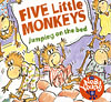 FIVE MONKEYS JUMPING BED/CD
