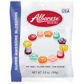 美國 Albanese 艾爾巴 小花軟糖(100g)【小三美日】進口 / 團購 / 零嘴