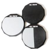 原裝進口 VIC Firth 12寸啞鼓墊 套裝 架子鼓鼓墊 雙面練習鼓墊 YYJ 快速出貨