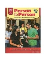 博民逛二手書《Person to Person Third Edition 2: