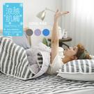 COOL涼感平單式3.5尺單人針織涼墊+涼枕墊二件組-灰(台灣製)保潔墊|TTRI涼感測試|SGS檢驗