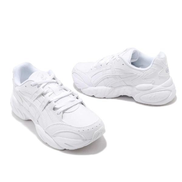Asics 休閒鞋 Gel-BND GS 白 Tiger 女鞋 大童鞋 老爹鞋 運動鞋 【ACS】 1024A040100