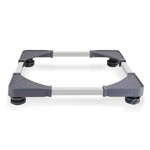 通用洗衣機底座冰箱腳架托架波輪架子滾筒底架移動萬向輪加高支架xw