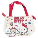 小禮堂 Hello Kitty 橫式皮質...